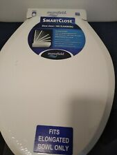 Mansfield Smart Close Fits All Elongated Toilets - White Brand New Never Used