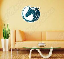 "Horse Head Tribal Mustang Stallion Wall Sticker Room Interior Decor 22""X22"""