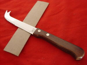 """Lil C made in USA 8"""" Kitchen Cheese Fixed Blade Knife MINT"""