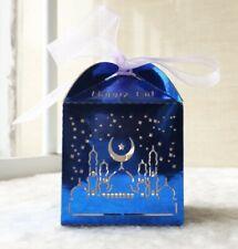 New listing 2 x Piece Most beautiful Glossy Eid Mubarak Laser cut Box(12 x 12 x 19.5cm Big)