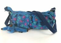 Stunning Kipling Ladies Blue Shoulder Cross Body Handbag Size Small vgc