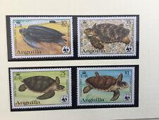 WWF-Briefmarken Anguilla 1983 - Schildkröten: Satz MNH **