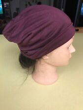 "10"" Maroon Beanie Skull Cap Hat"
