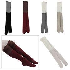 Unbranded Cotton Blend Knee-High Socks for Women