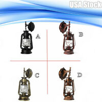 Rustic Porch Light Metal Glass Wall Outdoor Sconce Lamp WallMount Retro Delicate