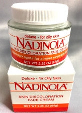 Nadinola Skin Discoloration Fade Cream For Oily Skin 2.25 Oz FadesDarkSpot