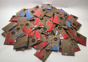 Huge Lot Knot & Bow Red & Blue Parcel Cardstock Tags Popsugar  Gift Topper