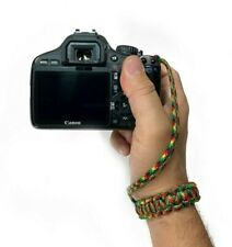 Jamaican Adjustable Cobra Paracord DSLR Camera Safety Wrist Strap