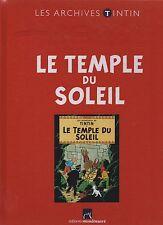 LES ARCHIVES TINTIN - Le Temple du Soleil. Editions Moulinsart. état neuf non lu