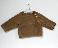 Petit pull brun - 18/24 mois
