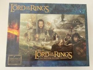 NEW/UNOPENED 1000 Piece Puzzle - LORD OF THE RINGS
