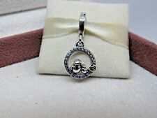 New / Box Pandora Mother & Baby Bird CZ Dangle Charm 797060NPRMX