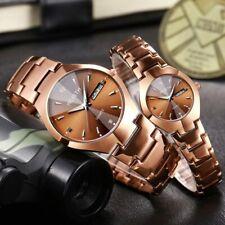 WLISTH Lover Watches Quartz Double Calendar Women Men Watch Couples Wristwatch