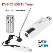 Digital DVB-T2/T DVB-C USB 2.0 TV Tuner Stick HDTV Receiver For PC/Laptop