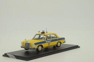 RARE !! Mercedes W108 GAI Miliciya Russia USSR Moscow 1975 Spark A010 1/43