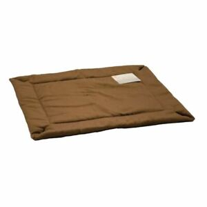 """K&H Pet Products Self-Warming Crate Pad Extra Extra Large Mocha 37"""" x 54"""" x 0.5"""""""