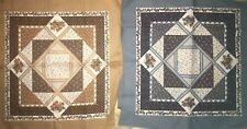 2 Pillow Panels QUILT, SEW,  FABRIC