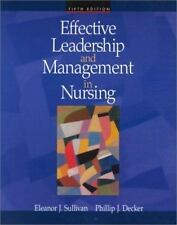 Effective Leadership and Management in Nursing by Pat Jamerson, Philip J. Decker