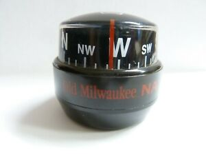 VINTAGE OLD MILWAUKEE NA AUTOMOTIVE DASH COMPASS, PROMO? 1990s?