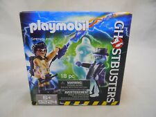 Playmobil Ghostbusters 18pc Set #9224 Spengler and Ghost Nib