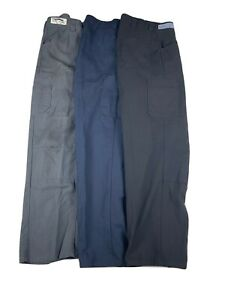 Reinforced Double Knee Work Pants - Red Kap Mechanic Performance Shop Pants Used