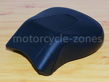 Rear Pillion Passenger Seat Leather Back Seat For Harley FLSTF Fat Boy 2008-2014
