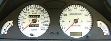 Lockwood Peugeot 106 140MPH with Rev Counter - no Oil Gauge WHITE (B) Dial Kit