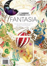 Harmony of Colour Book 72 Fantasia - Adult Colouring 36 Designs