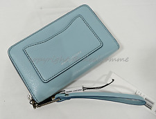 NWT MARC By Marc Jacobs M0008173 Recruit Zip Phone Wristlet/Wallet in 463 Azur