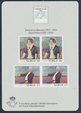 Norwegen Block 4 postfrisch (12531) ............................................