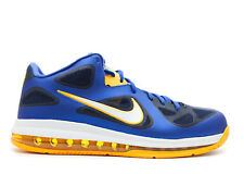 Nike Lebron 9 low cortos baloncesto jordan gr:44 us:10 azul oscuro kobe nuevo