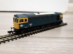 Dapol 2D-001-000 Class 33/0 33030 BR blue livery.
