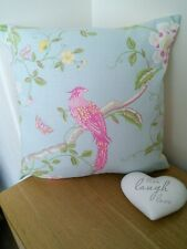 Four Hand Made Laura Ashley GOSFORD Plum Cushion Cover. 55 X 50cm Zip and Pipped