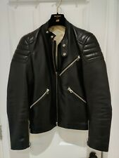 ACNE STUDIOS Oliver Leather Biker Jacket Black 46 S Small Chest 36 RRP £1699 NEW