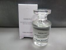 Mini Perfume Yves Rocher Neroli Secrets D'Essences 0.16 oz 5 ml Orange Blossom