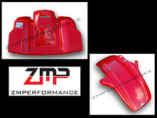 NEW MAIER HONDA 85 - 86 ATC 250R FIGHTING RED PLASTIC FRONT AND REAR FENDER SET