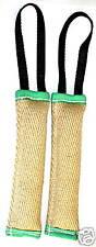 2 Bringsel Beisswurst Beisswulst Apportel Jute 25 cm mit Handschlaufe Hund NEU