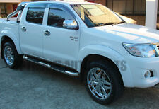 Running Boards Stainless Steel Side Steps to suit Toyota Hilux 2005-2015