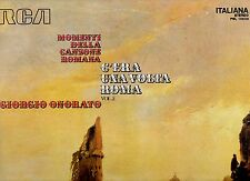 GIORGIO ONORATO disco LP 33 g MOMENTI DELLA CANZONE ROMANA C'era una volta Roma