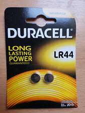 2 Stück Duracell LR44 V13GA KA 76  Knopfzelle Alkaline