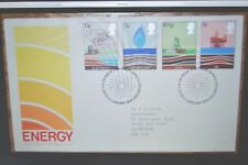 January 1978; First Day Cover; Energy Resources; Great Postmark