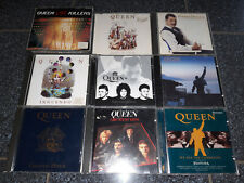 QUEEN / FREDDIE MERCURY - CD-Sammlung - 8x Album & 1x Maxi - TOP!!