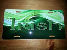 Irish License Plate