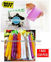 Ice Cream Popsicle Mold Disposable Bags Must Try Do it Your Self New Grab Now