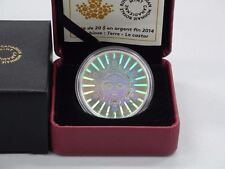 2014 $20 Beaver Hologram DC (Proof) Silver Commemorative