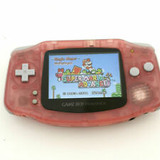 Nintendo Game Boy Advance GBA Pink System 101 Brighter Backlit IPS LCD MOD!
