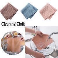 Fibre Ultrafine Chiffon Tissu de nettoyage Scout base Toile de lavage Serviette