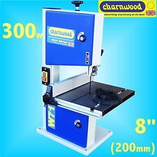 Charnwood W711 200mm 8in Bench Top 300w Woodworking Bandsaw 80mm cutting height