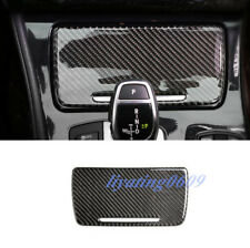 Real Carbon Fiber Water Cup Holder Panel Cover Trim For BMW F10 5 Series 2011-17