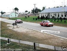 LOTUS FORD CORTINA ALLAN MOFFAT RACING SEBRING 4 HOURS 1967 PHOTOGRAPH